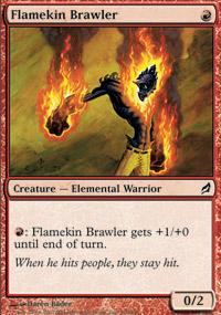 Flamekin Brawler - Foil