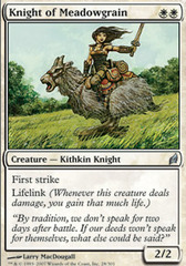 Knight of Meadowgrain - Foil