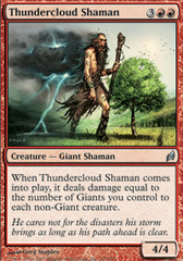 Thundercloud Shaman - Foil