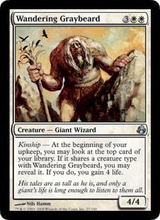 Wandering Graybeard - Foil