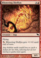 Blistering Dieflyn - Foil on Channel Fireball