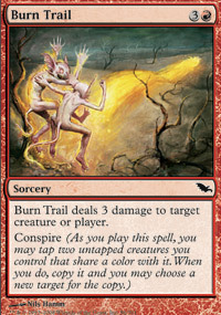 Burn Trail - Foil