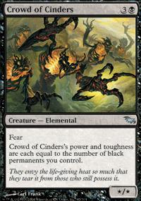 Crowd of Cinders - Foil