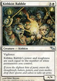 Kithkin Rabble - Foil