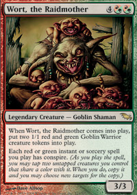 Wort, the Raidmother - Foil