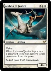 Archon of Justice - Foil on Channel Fireball