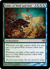 Fable of Wolf and Owl - Foil