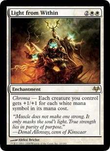 Light from Within - Foil