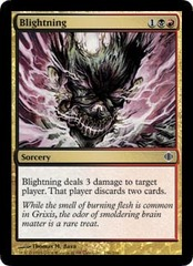 Blightning - Foil on Channel Fireball