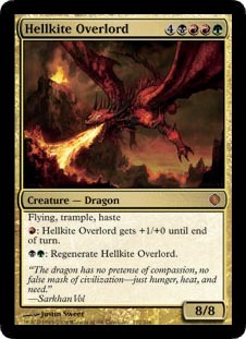 Hellkite Overlord - Foil