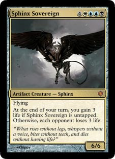 Sphinx Sovereign - Foil