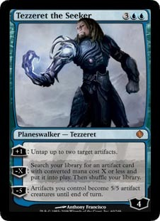 Tezzeret the Seeker - Foil