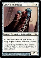 Court Homunculus - Foil on Channel Fireball