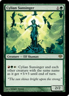 Cylian Sunsinger - Foil