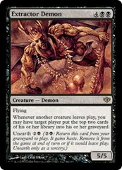 Extractor Demon - Foil on Channel Fireball