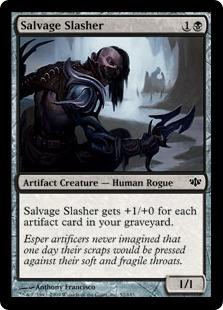 Salvage Slasher - Foil