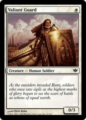 Valiant Guard - Foil