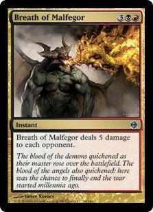 Breath of Malfegor - Foil