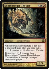 Deathbringer Thoctar - Foil on Channel Fireball