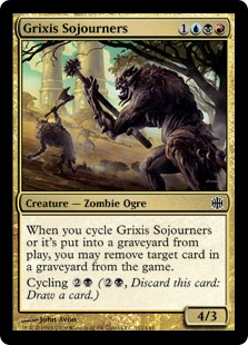 Grixis Sojourners - Foil