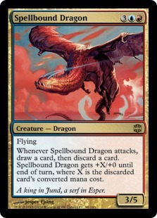 Spellbound Dragon - Foil