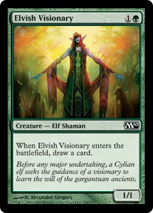 Elvish Visionary - Foil