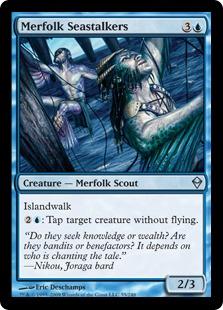 Merfolk Seastalkers - Foil