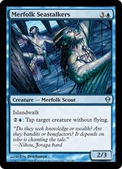 Merfolk Seastalkers - Foil