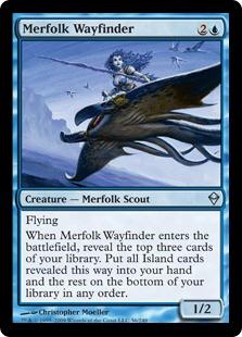 Merfolk Wayfinder - Foil