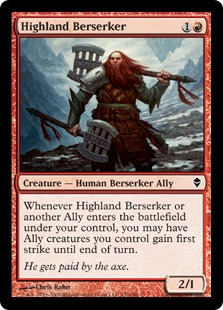 Highland Berserker - Foil