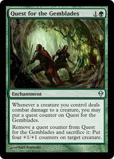 Quest for the Gemblades - Foil
