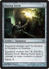 Blazing Torch - Foil on Channel Fireball