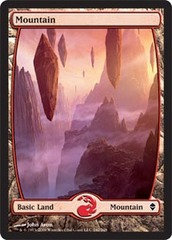 Mountain - Full Art (242) - Zendikar Foil