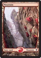Mountain (245) - Full Art - Foil (Zendikar)