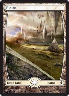 Plains (233) - Full Art - Foil