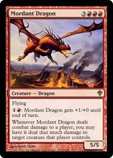 Mordant Dragon - Foil