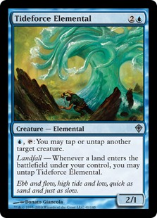 Tideforce Elemental - Foil