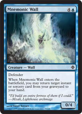 Mnemonic Wall - Foil