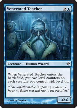 Venerated Teacher - Foil