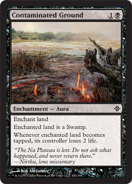 Contaminated Ground - Foil