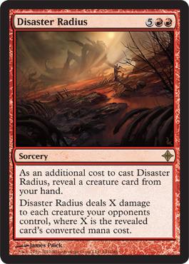 Disaster Radius - Foil