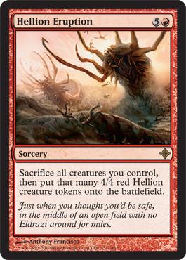 Hellion Eruption - Foil