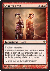 Splinter Twin - Foil on Channel Fireball