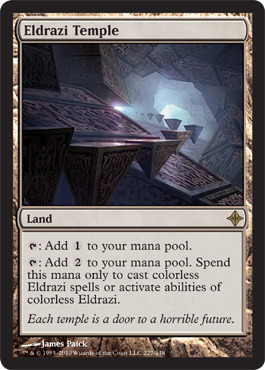 Eldrazi Temple - Foil