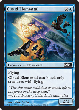Cloud Elemental - Foil