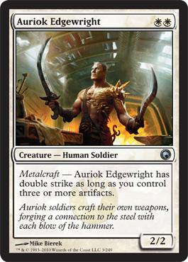 Auriok Edgewright - Foil