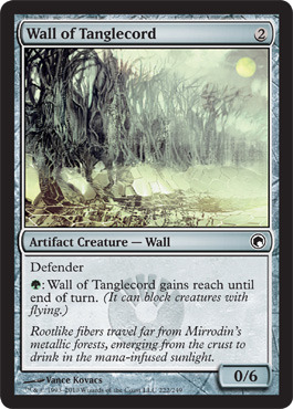 Wall of Tanglecord - Foil