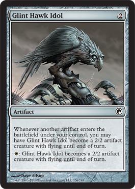 Glint Hawk Idol - Foil