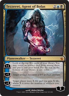 Tezzeret, Agent of Bolas - Foil