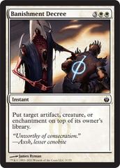 Banishment Decree - Foil